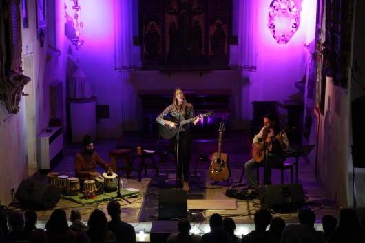 Seven Eyes live at St Pancras Old Church London, Sept 2017